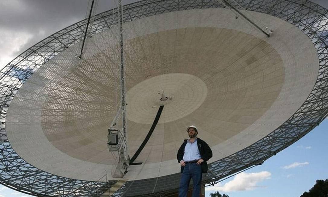 O telescópio gigante está localizado no sudeste da Austrália Foto: BBC News Brasil / BBC News Brasil