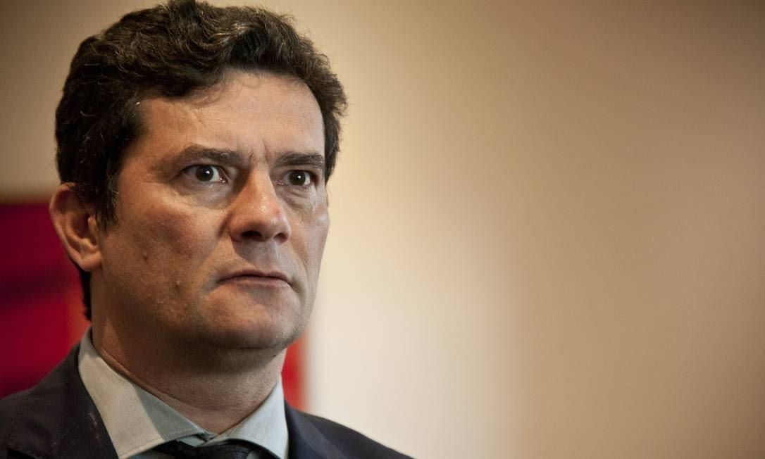 O ministro Sérgio Moro Foto: Adriana Lorete / Agência O Globo