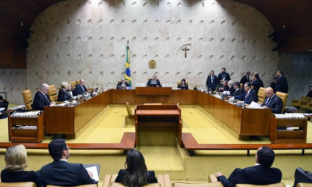 Plenário do Supremo Tribunal Federal (STF) Foto: CARLOS ALVES MOURA / CARLOS ALVES MOURA / STF