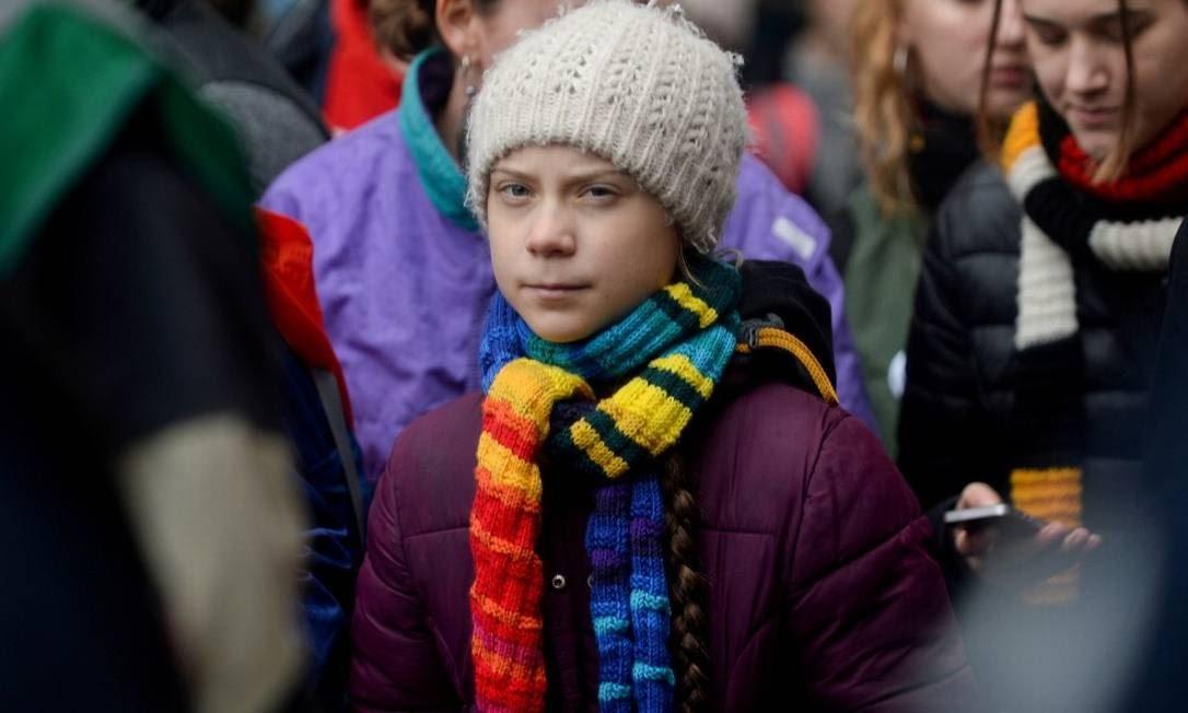 A ativista sueca Greta Thunberg Foto: Johanna Geron / REUTERS