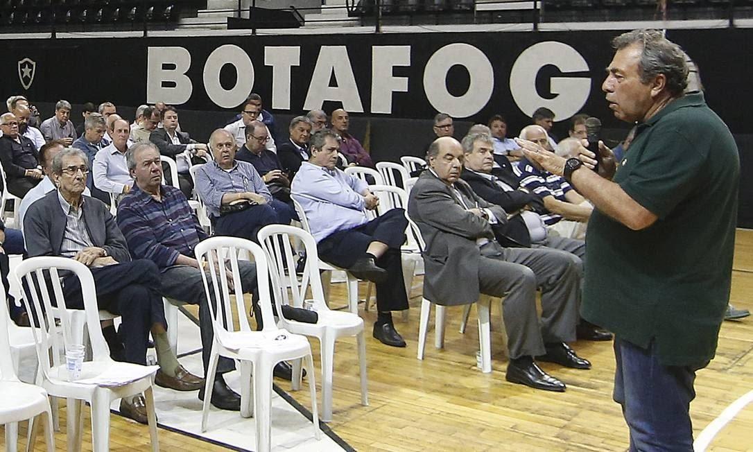 Reunião do Conselho Deliberativo do Botafogo em General Severiano Foto: Vitor Silva/Botafogo / Vitor Silva/Botafogo
