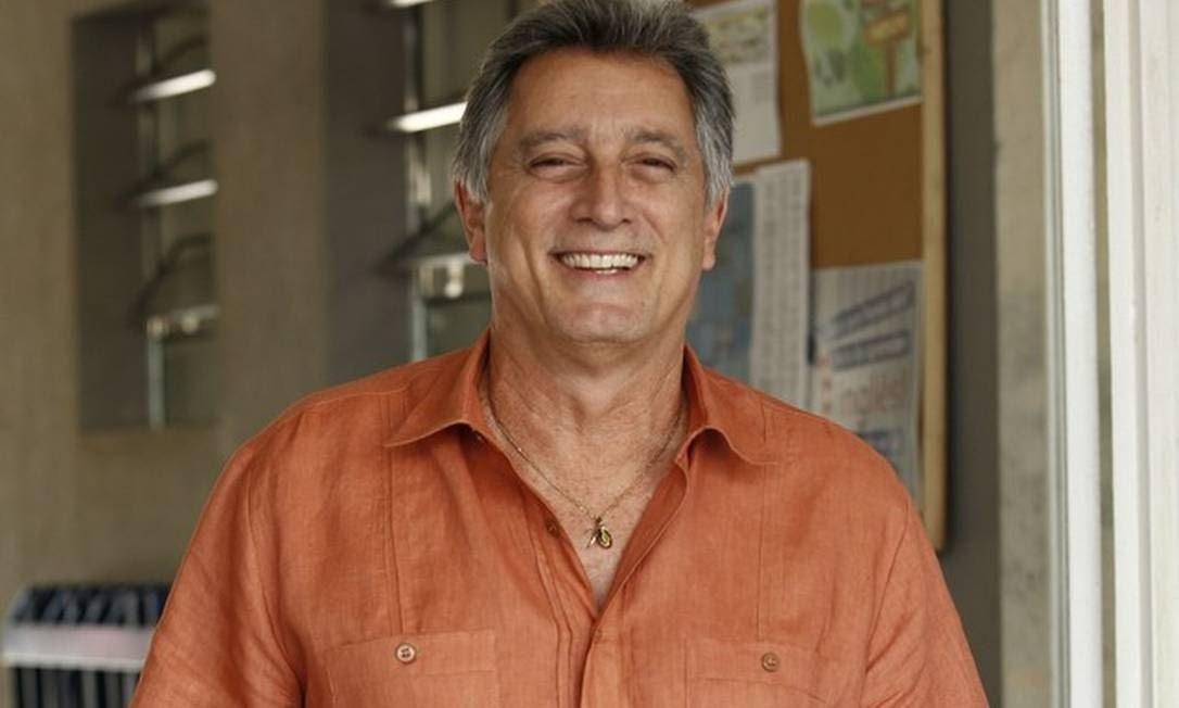 O ator Eduardo Galvão morreu nesta segunda-feira, dia 7 de dezembro, de Covid-19 Foto: Raphael Dias/TV Globo